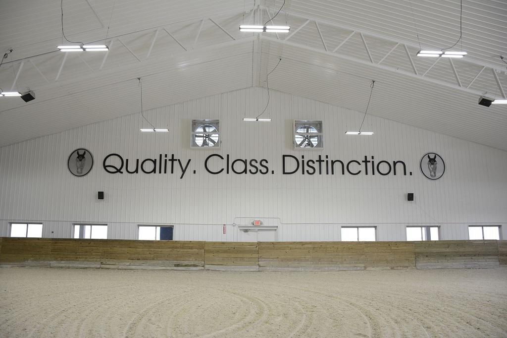 indoor horse arena bradley arena world equestrian center