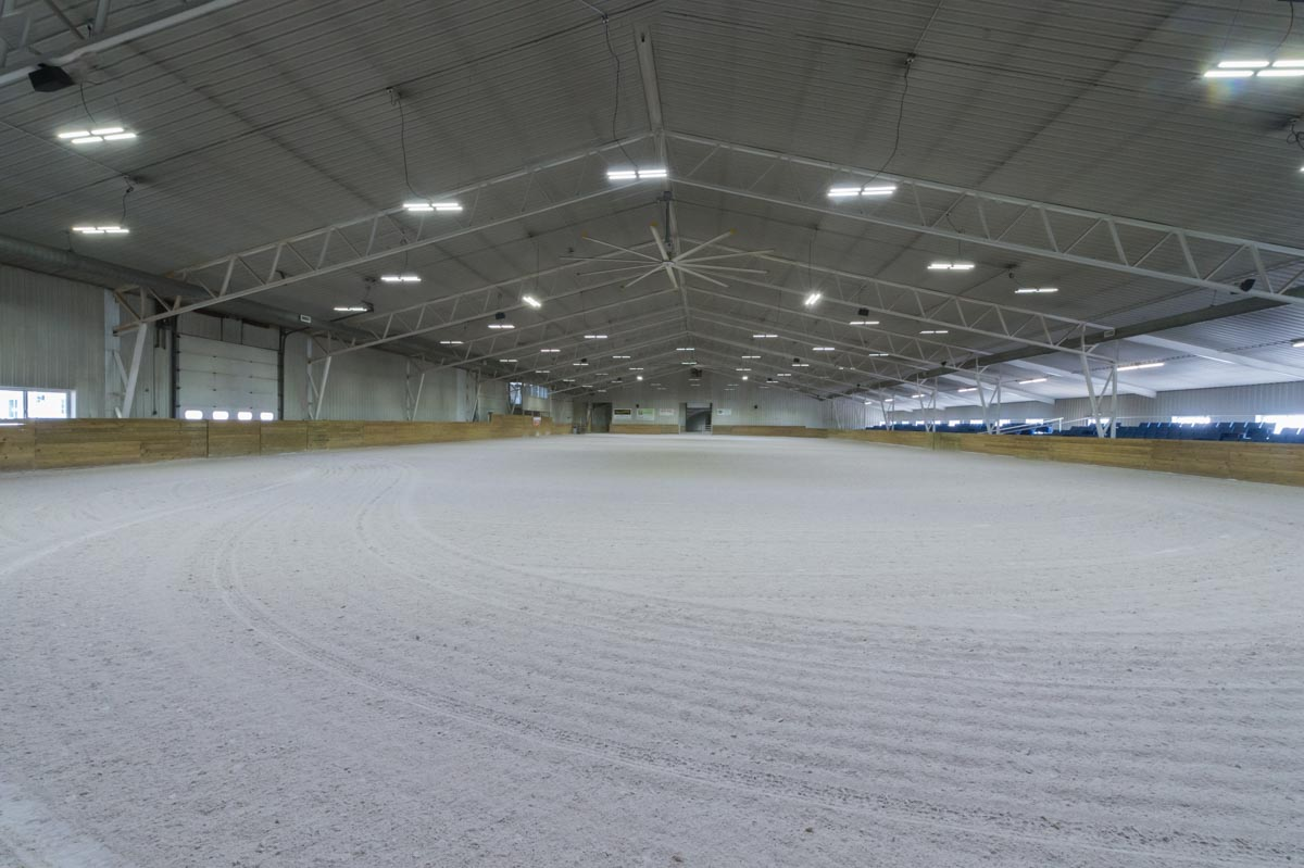 climate controlled equestrian arenas roberts arena