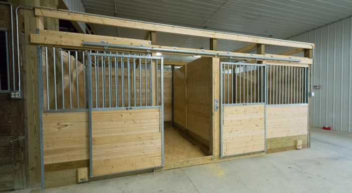 covered riding arena barns