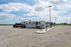 Truck and trailer RV Hookups