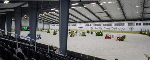 The Sanctuary - our beautiful new indoor arena.