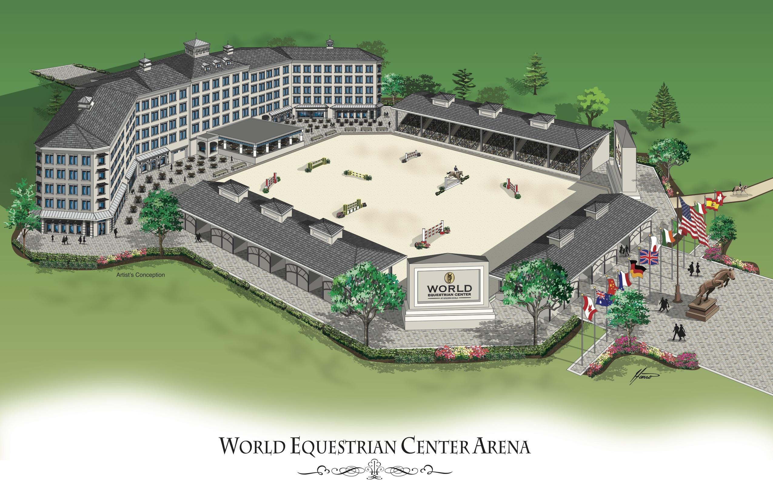 World Equestrian Center And Golden Ocala Golf Amp Equestrian
