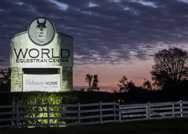 World Equestrian Center Entrance