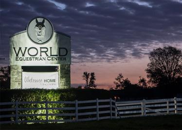 World Equestrian Center Entrance