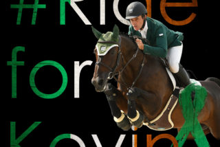 #RideforKevin During the WEC Fall Horse Shows...
