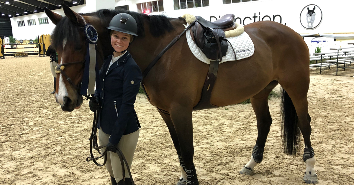 Sunday Spotlight Luxella Returns To The Show Ring At Wec