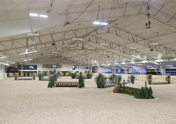 wilmington equestrian roberts arena interior
