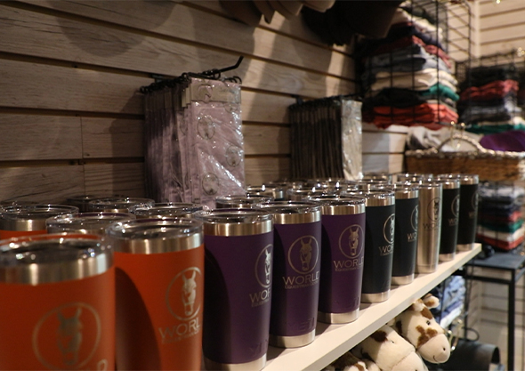 wilmington equestrian shopping sudden impulse WEC merchandise insulated cups