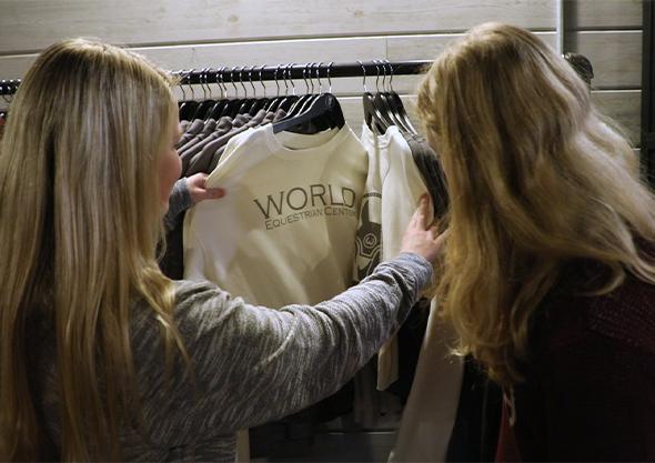 wilmington equestrian shopping sudden impulse WEC merchandise
