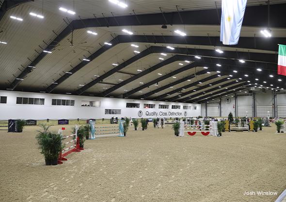 ocala equestrian indoor arena florida show arena