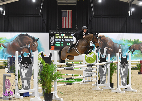 rider and horse jumping qorld equestrian center wilmington sponsors