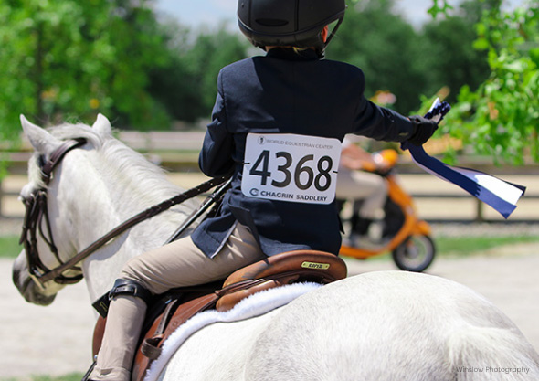 child on horse in competition wilmington equestrian members and exhibitors