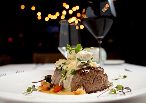 wilmington dining steak entree night