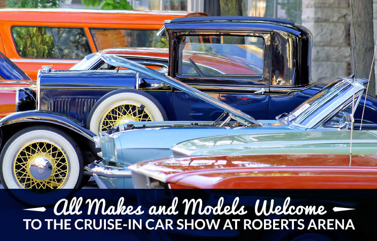 Roberts Arena Hosts Cruise-In To Celebrate All Things Automotive