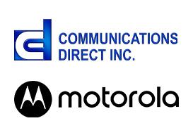 Direct Communications and Motorola logos